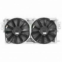 C&R Competition Dual Pass Heat Exchanger w/ Dual Puller Fans
