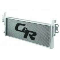 C and R Racing Ford Mustang Shelby GT500 05-14 Heat Exchanger  with installation kit WITHOUT fans (Heat Exchanger Only) (2007-2014 Mustang) - 57-00000