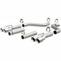 Magnaflow 19206 2015+ 6.2L Dodge Challenger Hellcat Race Series Axle Back Exhaust w/ Round Tips
