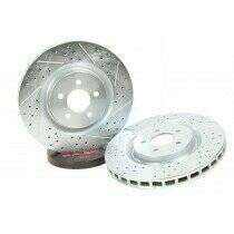 Baer 05-2014 Mustang Sport Rotors - Front (07-2012 Shelby GT500 ; 2010-2014 Mustang GT w/ Brembo Upgrade ; Boss 302)