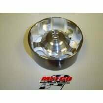 Metco MIP-90D 90mm Double Bearing Idler Pulley with Bearing Cover                                                                                                               For Severe Duty Applications
