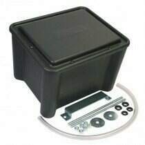 Moroso NHRA Legal Sealed Battery Box (Black)