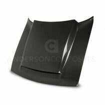 Anderson Composites Cowl Style Carbon Fiber Hood (2018 Dodge Demon) - AC-HD18DGCHDM-KB