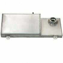 Canton 96-04 Mustang Aluminum Coolant Expansion Tank (Stock Cap)