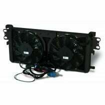 "AFCO Dual Pass Heat Exchanger w/Dual 10"" Fans (Black Thermal Coat)"