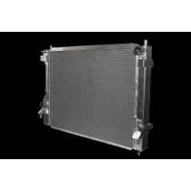 Afco 2010-2014 Mustang Aluminum Radiator (Polished)
