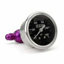 Zex -4AN Liquid Filled Nitrous Bottle Pressure Gauge