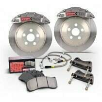 Stop-Tech 05-2014 Mustang GT Big Brake Kit (355x32mm Slotted Rotors-Trophy Sport 4 Piston Calipers)
