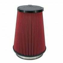 AirAid Shelby GT500 / GT350 SynthaMax Non-Oiled Replacement Air Filter (Red)