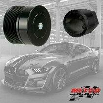 Metco Motorsports 2020GT500PULLEYRING Supercharger Pulley Ring and Cover Kit (2020 5.2L Shelby GT500)