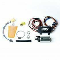 Deatschwerks 440lph in-tank brushless fuel pump and single/dual speed controller with install kit (1999-2004 Mustang GT) - 9-441-C102-0908