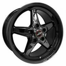 "Race Star Drag Wheel 18"" x 8.5"" - Dark Star Finish (2013-2014 GT500 & 2015+ GT w/ Standard or Upgraded Brake Pkg)"