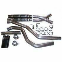 "Stainless Works 04 GTO 3"" Chambered Catback System with Oval Tip"