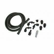 Stock Fuel Line to divisionX Fuel Rail Fitting & Hose Kit (2003-2004 Cobra)