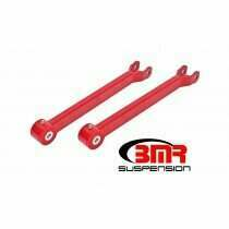 BMR LTA110R Red Lower Trailing Arms, Non-Adjustable, Poly Bushings 2008 - 2018 Dodge Challenger