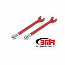 BMR LTA111R Red Lower Trailing Arms, Single Adjustable, Rod Ends 2008-2020 Dodge Challenger