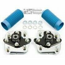 Maximum Motorsports 03-04 Cobra 4-bolt Caster/Camber Plates-Chrome - MMCC0304-C