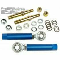 Maximum Motorsports 94-04 Mustang Adjustable Tie-Rod Ends/Bump Steer Kit (tapered stud) - MMTR-4