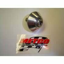 Metco MSSC0001 Billet Shaft Cover for Eaton Supercharger (2003-4 Mustang Cobra, 1999-2004 Lightning & 2003-4 Harley Truck)