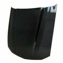 "Anderson Composites HD0506FDMU-CL 2005-2009 Mustang Carbon Fiber 2.5"" Cowl Hood"