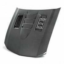"Anderson Composites HD0506FDMU-SS 2005-2009 Mustang ""Type-SS"" Carbon Fiber Hood"