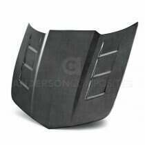 Anderson Composites Type-STII Carbon Fiber Hood - AC-HD1011CHCAM-TSII