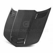 Anderson Composites Type-TT Carbon Fiber Hood (2010-2015 Camaro) - AC-HD1011CHCAM-TT
