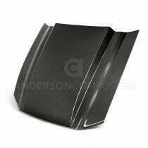Anderson Composites HD13FDMU-CJ Type-CJ Carbon Fiber Cowl Hood (13-14 GT / 10-14 GT500 / 13-14 V6)