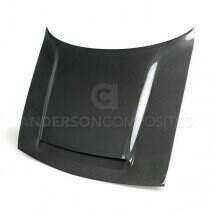 Anderson Composites Type-OE Carbon Fiber Hood (2018 Challenger) - AC-HD18DGCHDM-OE