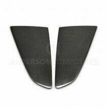 Anderson Composites WL15FDMU-F 2015-2020 Ford Mustang Carbon Fiber Type-Flat Side Window Louvers (Pair)