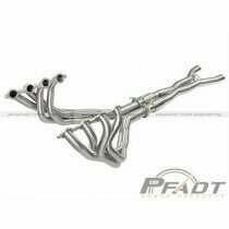 AFE Header & Connection Pipe Combo (2006-2013 Chevrolet Corvette V8-6.2L/7.0L) - 48-34107-YC
