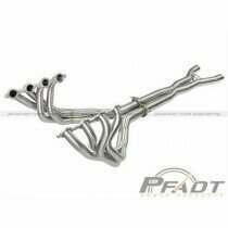 AFE Header & Connection Pipe Combo (2006-2013 Chevrolet Corvette V8-6.2L/7.0L) - 48-34107-YN