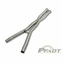 AFE PFADT Series X-Pipe 3 IN 304 Stainless Steel (2005-2008 Corvette, Corvette) - 48C34104-YN