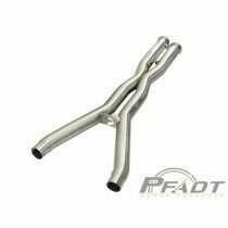 AFE PFADT Series X-Pipe 3 IN 304 Stainless Steel (2009-2013 Corvette) - 48C34108-YN