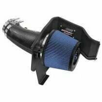 AFE Track Series Stage-2 Carbon Fiber Intake System w/ Pro 5R Filter (2011-2021 300, Challenger, Charger) - 54-12172-C