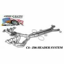 "ARH Z06-06178300LSNC 2006-2013 C6 Z06 Corvette Long System 1-7/8"" x 3"" with No Cats"