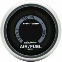 "Autometer Sport Comp 2-1/16"" Electric Air/Fuel Ratio Gauge"