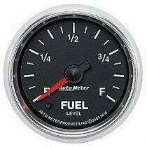 "Auto Meter GS Series 2 1/16"" Fuel Level Gauge"