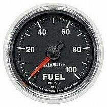 "Auto Meter GS Series 2 1/16"" 0-100psi Fuel Pressure Gauge"