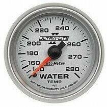 "Autometer Ultra-Lite II Series 2 1/16"" 140-280deg Water Temp."
