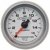"""Autometer Ultra-Lite II Series 2 1/16"""" 0-1600 deg. F Pyrometer"""