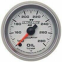 "Autometer Ultra-Lite II Series 2 1/16"" 140-280 deg Oil Temp."