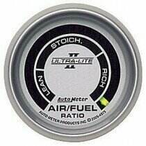 "Autometer Ultra-Lite II Series 2 1/16"" Air/Fuel Ratio Gauge"