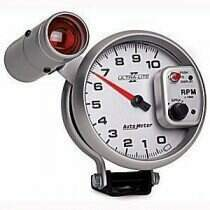 Autometer Ultra-Lite II Series 10000 RPM Tachometer Shift-Lite