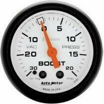 """Autometer Phantom II Series 2 1/16"""" 30-/+20 Psi Boost/Vac. Gauge"""