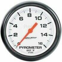 "Autometer Phantom Series Electric 2 1/16"" 0-1600 deg Pyrometer"