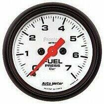"Autometer Phantom Series Elec. 2 1/16"" 0-100 PSI Fuel Pressure"