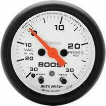 "Autometer Phantom Series Electric 2 1/16"" -30/+30 Boost/Vacuum"