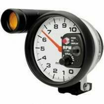 Autometer Phantom Series 10000 RPM Tachometer Monster Shift-Lite