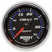 Autometer Cobalt Series 2-1/16 Mechanical 0-35Psi Boost Gauge